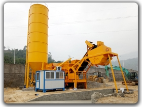 Mobile Stabilized Soil Mixing Plant