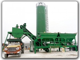 Mobile Stabilized Soil Plant